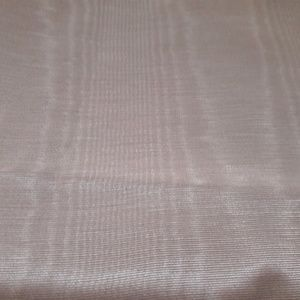 VTG DUSTY ROSE/CORAL MOIRE! 50W X 3 1/4 YDS !